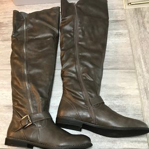 Over the knee boots Sz 10